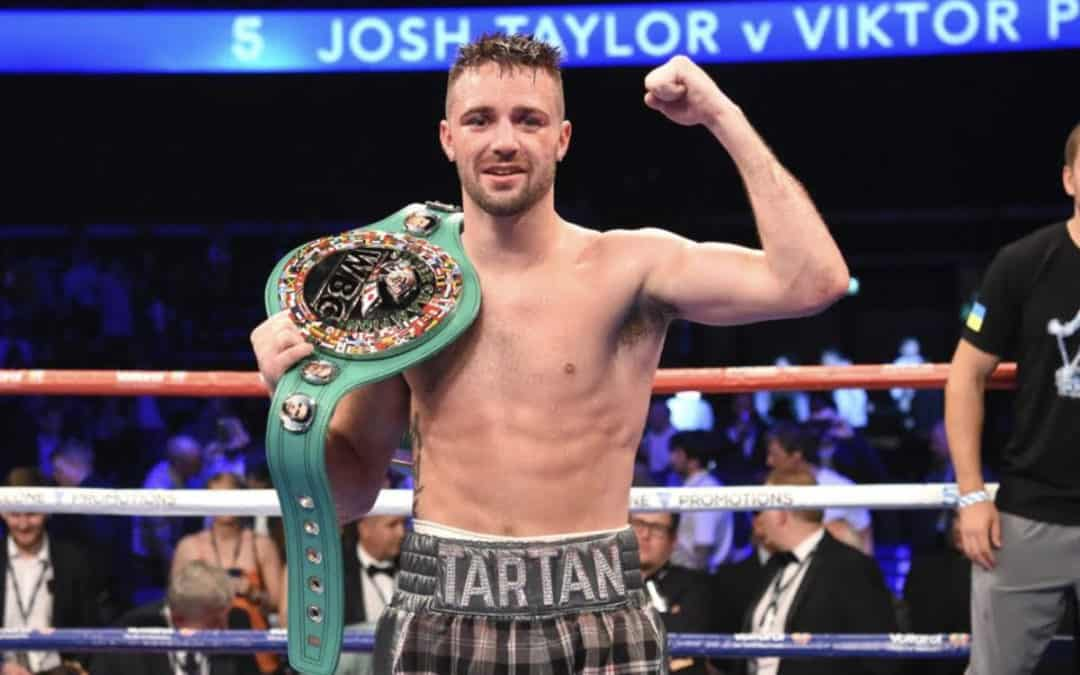 Josh Taylor wins boxer of the year