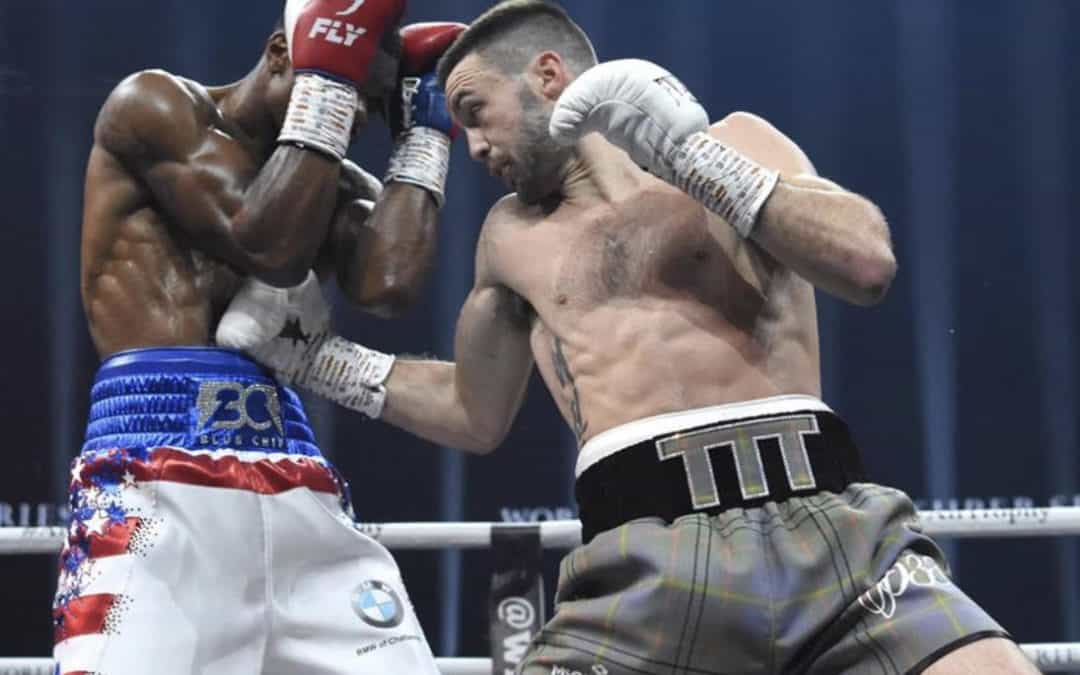 World Boxing Super Series: Josh Taylor stops Ryan Martin in seven to book semi-final IBF title shot