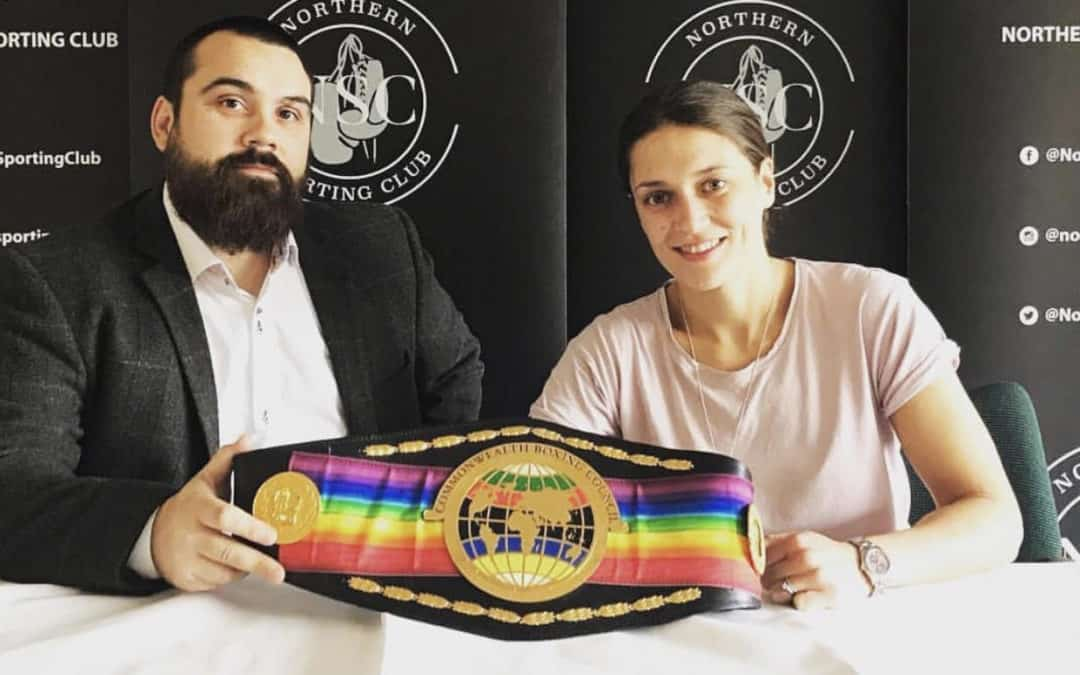 Commonwealth Bantamweight Champ Kristen Fraser Defends Title In 2019 And Campaigns For LIfe Changing Rainbow Laces Support
