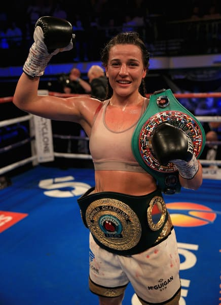 IBO Female Champion Chantelle Cameron Splits With Cyclone Promotions 2019.