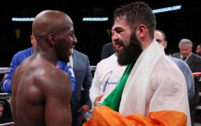Tevin Farmer Decisions Jono Carroll to Retain IBF Super Featherweight Title.