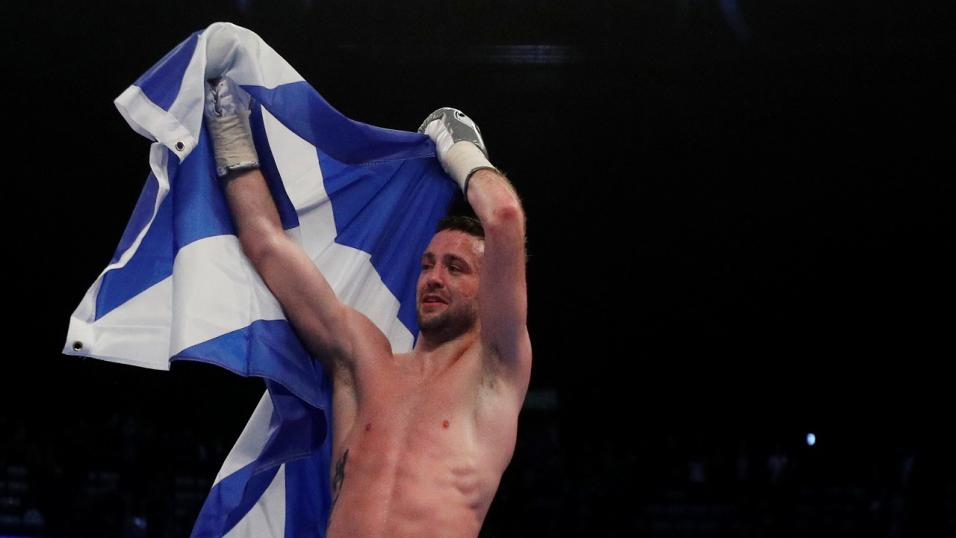 Josh Taylor Defeats Ivan Baranchyk To Claim 140lb Title On Monster World Boxing Super Series Night In Scotland.
