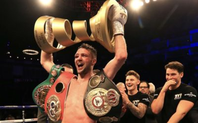 Scotland's First Ring Magazine Junior Welterweight Champion Josh Taylor Targets Clean Sweep of The 140lb Division